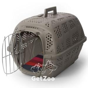 Imac Carry Sport АЙМАК КЭРРИ СПОРТ переноска для собак и кошек, пластик, 48,5х32х34,5 см цвет серый