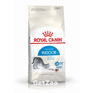 Royal Canin INDOOR 27 Сухой корм для кошек до 7 лет, живущих в помещении