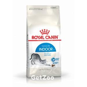 Royal Canin INDOOR 27 Сухой корм для кошек до 7 лет, живущих в помещении