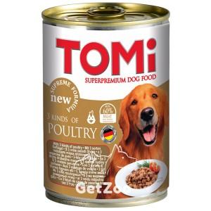 TOMi 3 вида птицы консервы для собак