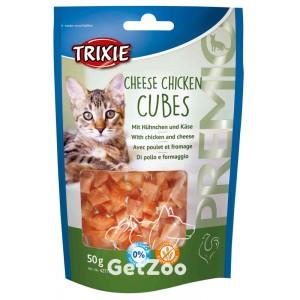 Trixie Кубики с сыром и курицей лакомство для кошек