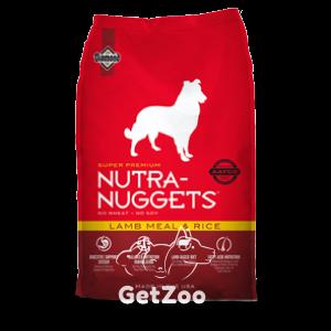Nutra Nuggets Dog Lamb & Rice сухой корм для собак с ягнёнком и рисом