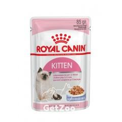 Royal Canin Kitten Instinctive Влажный корм в желе для котят от 4 до 12 месяцев