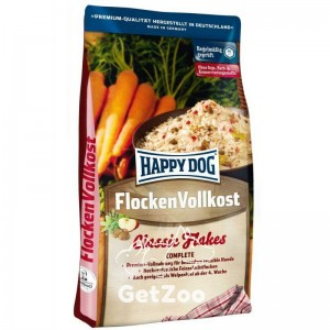 Happy Dog Flocken Vollkost - Сухой корм в виде хлопьев для собак