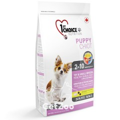 1st Choice Puppy Mini Сухой корм с ягнёнком и рыбой для щенков малых пород, 2,72 кг