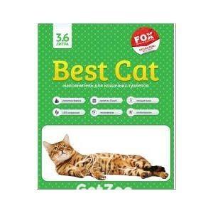 Best Cat силикагелевый наполнитель 10 л (4.5 кг), зелёное яблоко