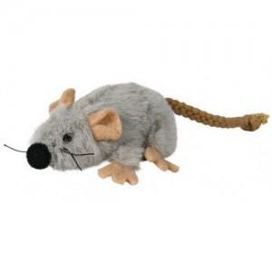 Плюшевая мышка с кошачьей мятой Trixie, 7 см