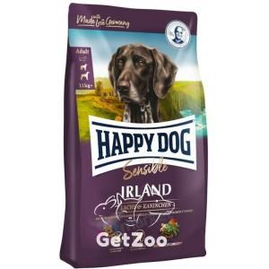 Happy Dog Sensible Irland Сухой корм для взрослых собак с лососем и кроликом