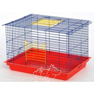 КРОЛИК-МАКСИ клетка для грызунов 56,5х40х36 см (краска)