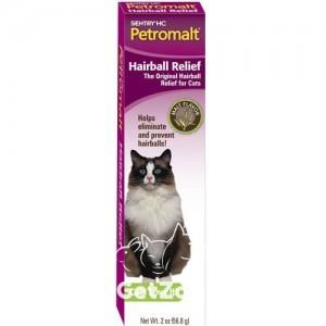 Sentry Petromalt Hairball Relief Паста для вывода шерсти со вкусом солода для кошек, 56 г