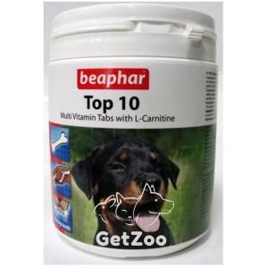 Beaphar (Беафар) Top 10 Мультивитамины для собак, 180 табл.