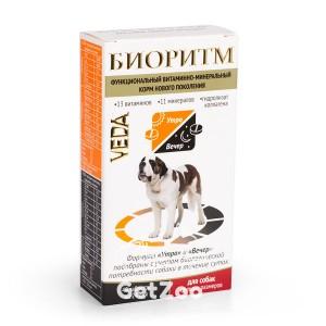 Veda (Веда) Биоритм Витаминно-минеральный комплекс для собак крупных размеров (более 30 кг)