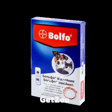 Bolfo Больфо ошейник от блох и клещей для мелких собак и кошек