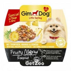 GimDog Тунец, ананас и овощи консервы для собак