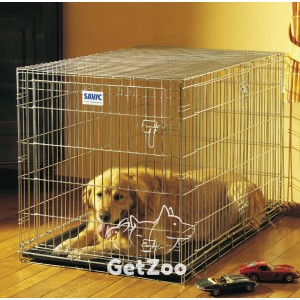 Savic Dog Residence Цинковая клетка для собак