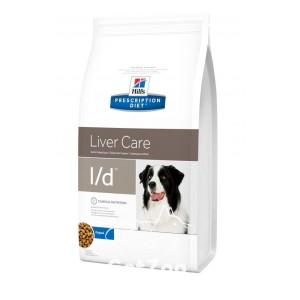 Hill's (Хиллс) L/D Сухой корм для собак при заболеваниях печени, гепатоэнцефалопатии