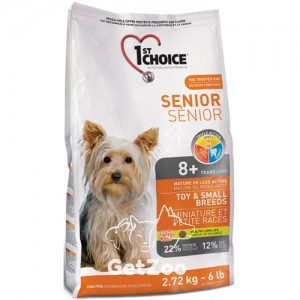1st Choice Senior Сухой корм для пожилых или малоактивных собак мини и малых пород