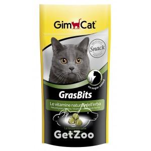 GimCat GrasBits Витаминизированное лакомство с травой