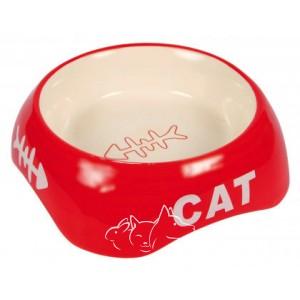 Trixie Cat Миска керамическая для кошек, 200 мл, цвета в ассортименте