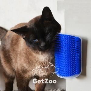 Самочесалка для кошек с кошачьей мятой