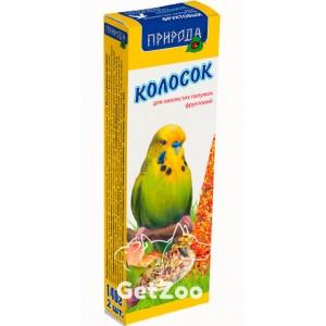 Колосок для попугая фруктовый 140г