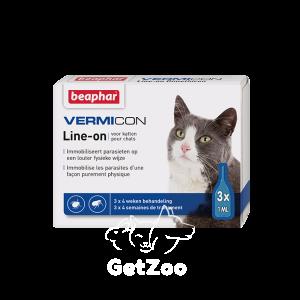 Beaphar (Беафар) IMMO Shield Line-on Капли от паразитов для кошек, 1 пипетка