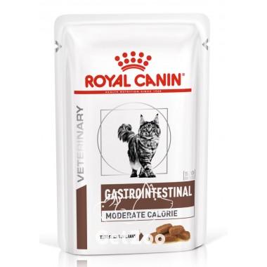 Royal Canin Gastro Intestinal Moderate Calorie Лечебный влажный корм для кошек с нарушением пищеварения