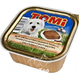 TOMi Паштет с рыбой для собак, 150 г