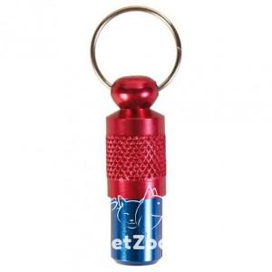 Адресовка сине-красная для собак